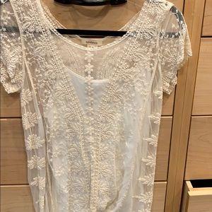 Sundance lace top